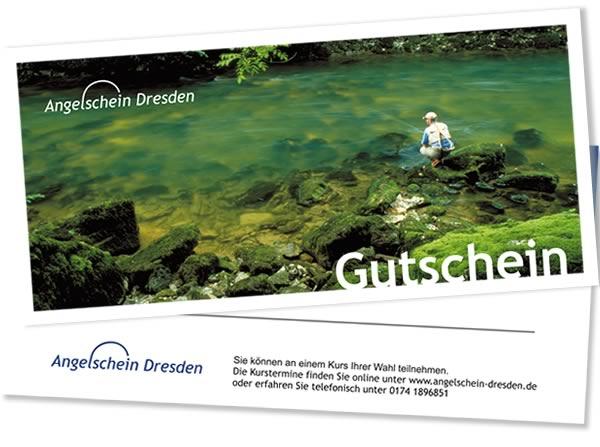 Gutschein Angelschein Fischereischein Dresden Sachsen Lehrgang